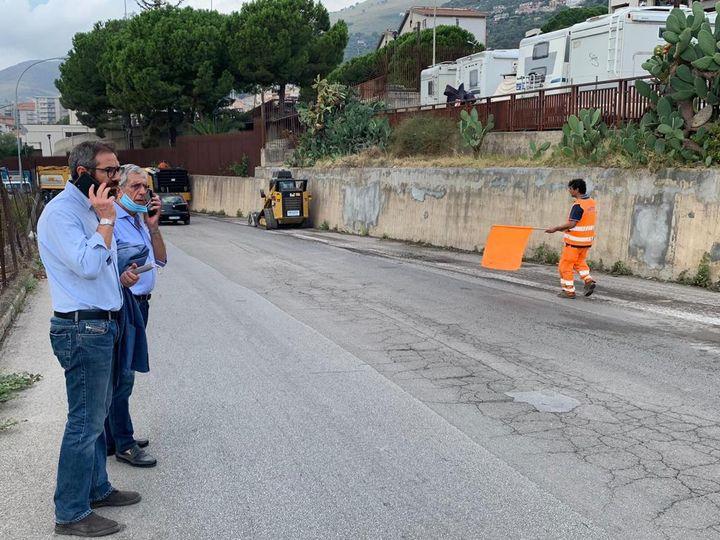 Giro D'Italia: Iniziati i lavori per rifacimento strade.