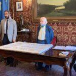 Un'opera in ricordo di Padre Pino Puglisi  realizzata da maestro Madè é stata donata al Comune di Monreale .