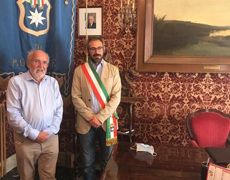 Premio Nobel per la fisica Michel Mayor ha visitato li visita a Monreale