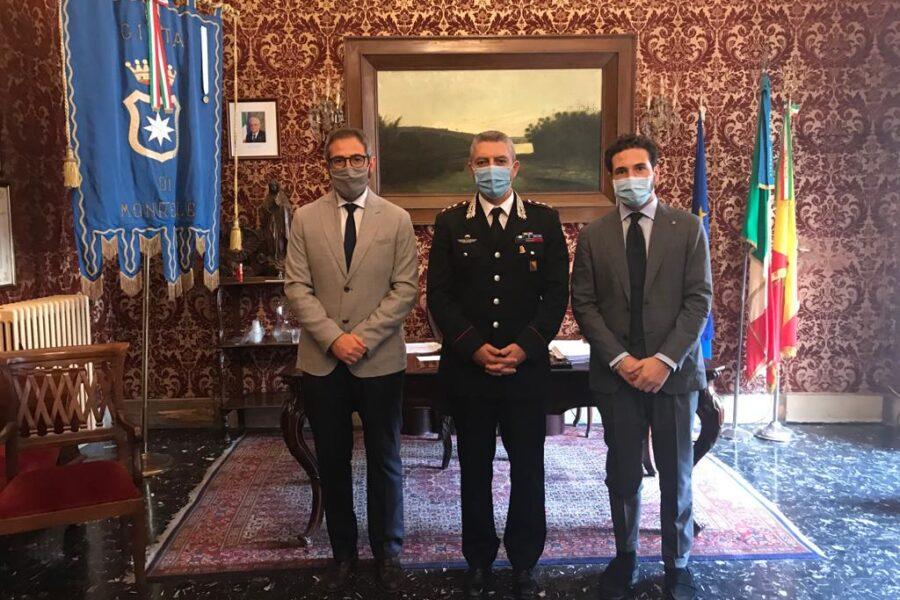 Benvenuto al tenente colonnello Sebastiano Arena