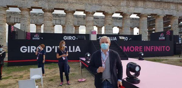 Si attiva la macchina organizzativa del Giro D'Italia.