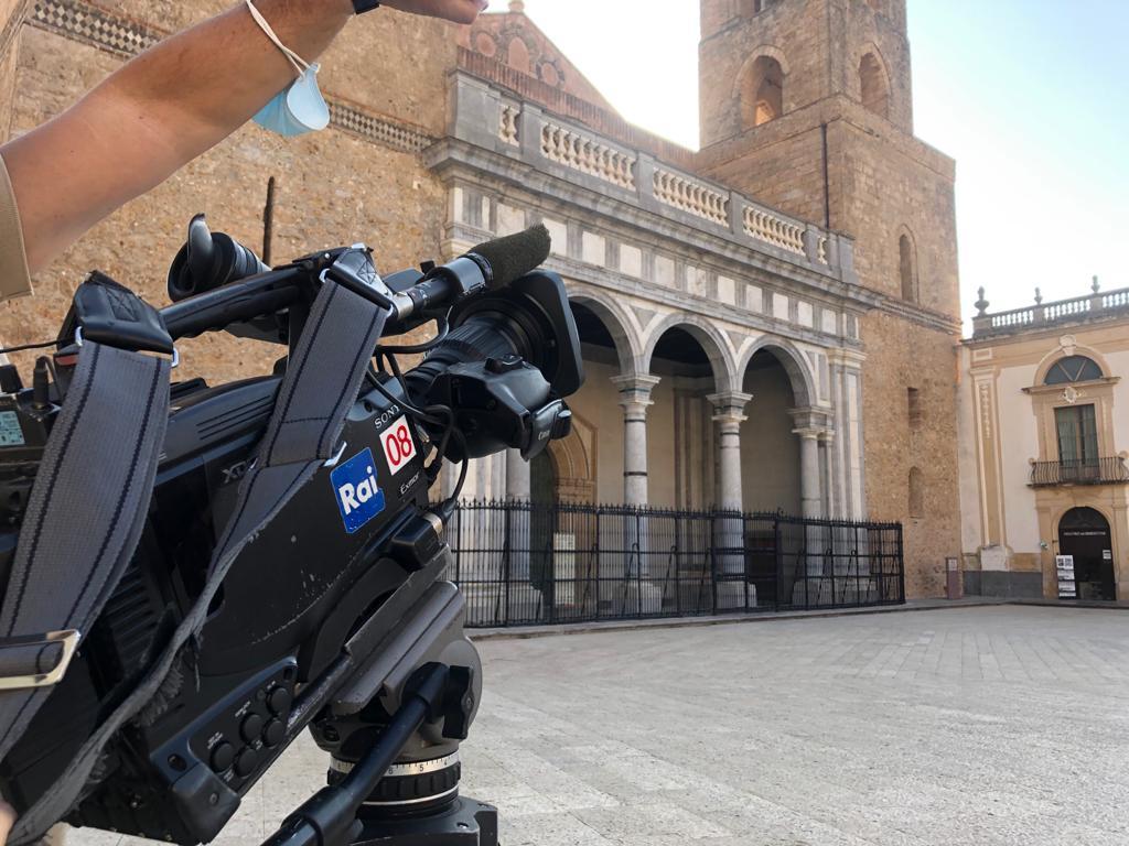 Un video su Monreale per celebrare il Giro d' Italia.