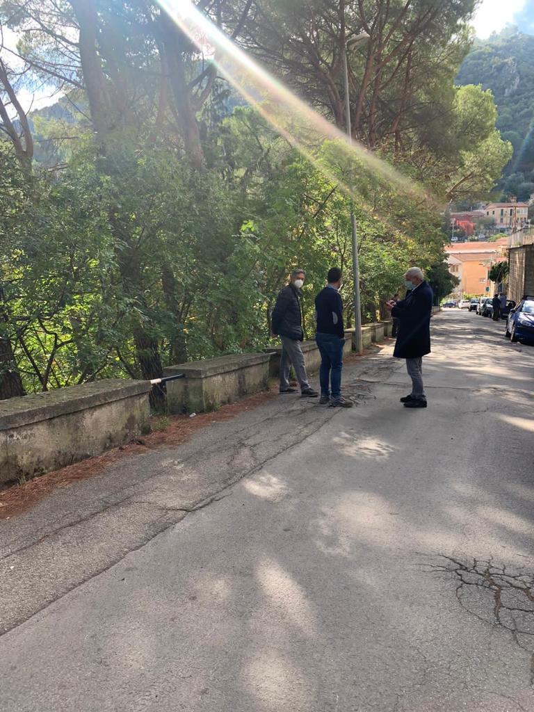 San Martino delle Scale: consegnati i lavori per messa in sicurezza strade.