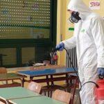 Effettuate le sanificazioni in tutte le scuole del territorio e scuolabus