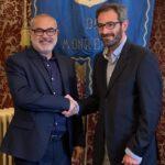 Il Sindaco  Alberto Arcidiacono ringrazia l'assessore Nicola Taibi per la collaborazione in Giunta.