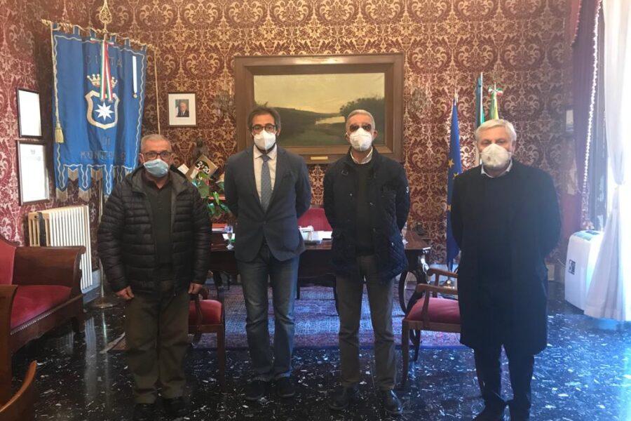 Vanno in pensione i dipendenti: Cusimano, Ingrassia e Teodosio. Il saluto del Sindaco Arcidiacono in Sala Rossa.