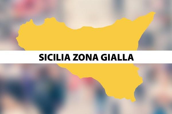 Da domani la Sicilia torna in zona gialla