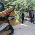 Partiti stamane i lavori di messa in sicurezza di via Cozzo del Pigno e via Barone