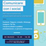 """""""Comunicare con i Social: dall'improvvisazione alla professionalità attraverso la formazione""""."""