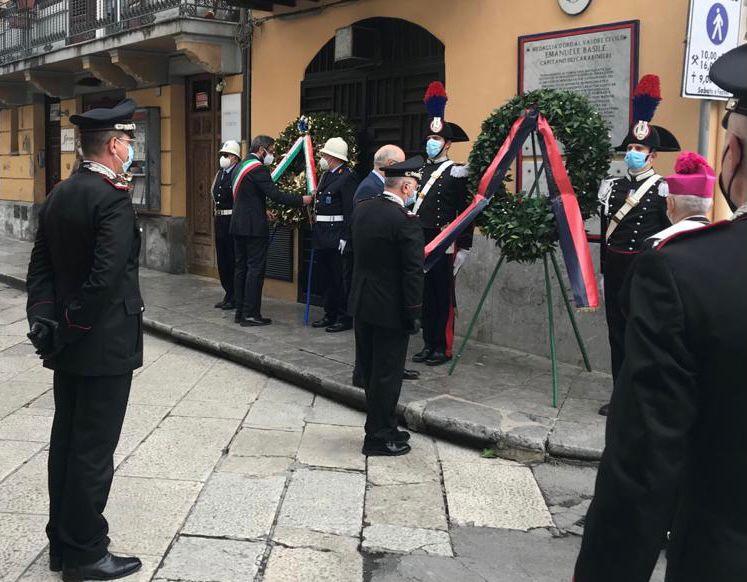Commemorazione del Capitano dei Carabinieri Emanuele Basile