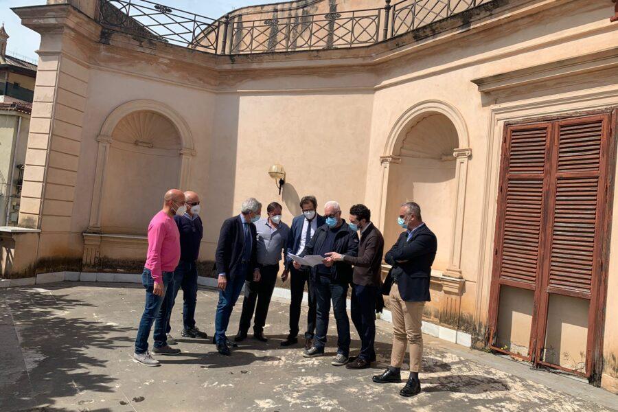 Consegnati stamane i lavori a Villa Savoia